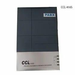 Abs Plastic 50-60 Hz CCL 416S PABX System, Box