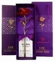 Sanvatsar Artificial Gold Rose For Valentine And Gift Purpose