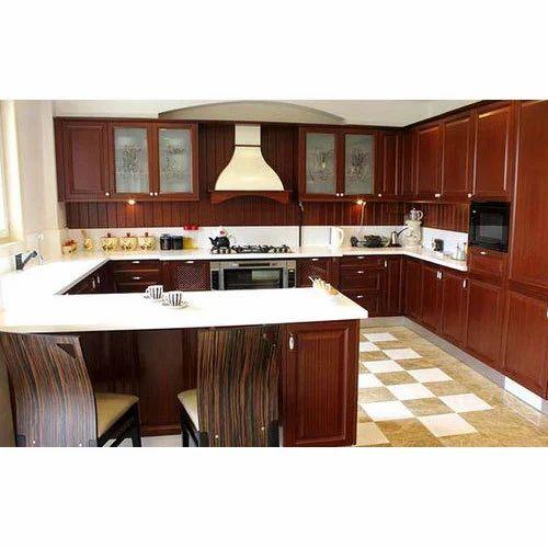 U Shaped Modular Kitchen: Classic U-Shaped Modular Kitchen, Rs 1100 /square Feet