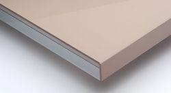 Metallic Beige High Gloss Acrylic Laminated Board