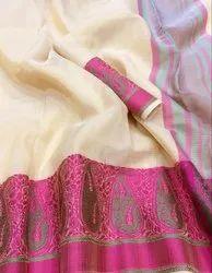 Pure Organza Silk Saree