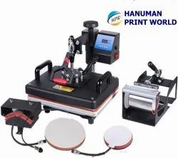 5 in 1 Hot Press Machine