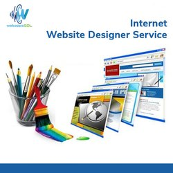 Internet Website Designing Service, With Chat Support