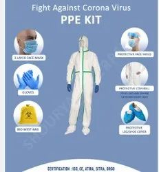 Sitra,Drgo,Atira, CE & ISO Certified PPE Kit80-20gsm With Tape, Laminated Outer Layer