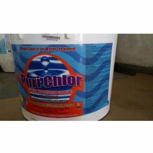 65-70% Purichlor Calcium Hypochlorite Granules