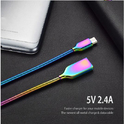Metal Spring USB Data Cable