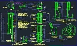 Business Use Autocad Drafting Designing Services, For Manufacturing, in Whole World