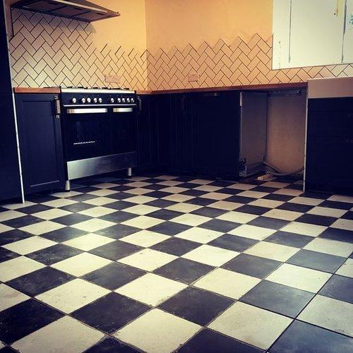 bvg residential building and health care center tile flooring services rs 20 square feet id. Black Bedroom Furniture Sets. Home Design Ideas