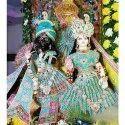 Radha Krishna Marble And Frp Statue