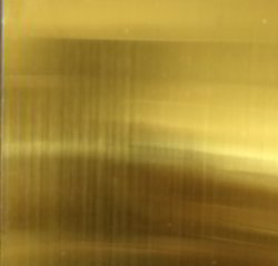 Coloured Stainless Steel Matte Finish Gold Sheets