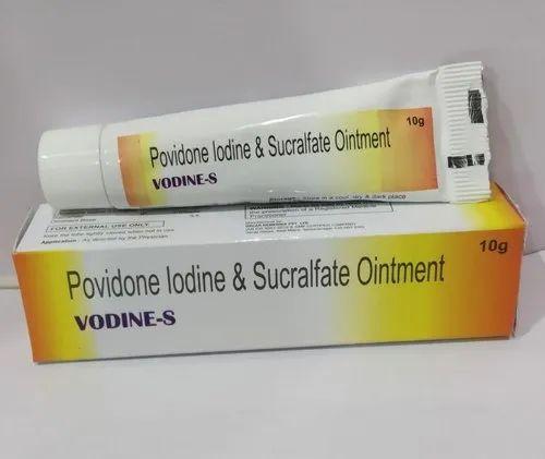 POVIDONE IODINE & SUCRALFATE OINTMENT