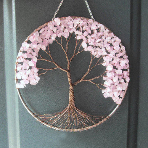 Gold And Pink Handmade Wall Hanging Rs 1000 Piece Lucky Wood
