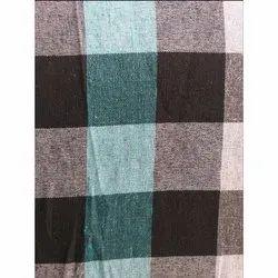 Check Poly Cotton Mattress Fabric, 11Kg500g