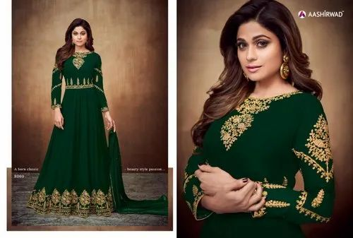 282e4efd173 AASHIRWAAD 1895 AASHIWAAD SIGNATURE ANARKALI PARTY WEAR SUIT, Rs ...
