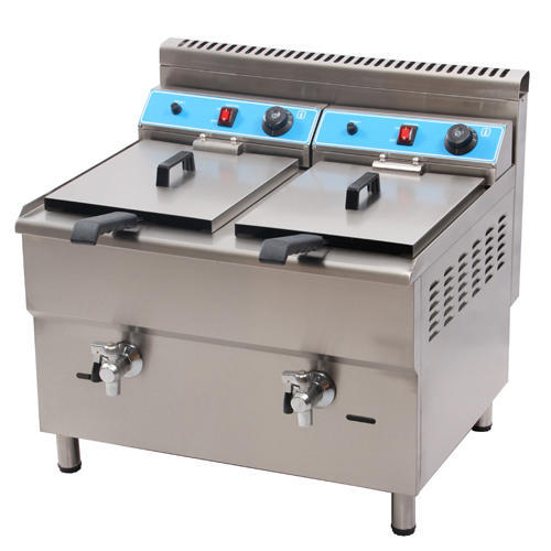 Double Tank Gas Deep Fryer at Rs 29500 /unit | Deep Fryer ...
