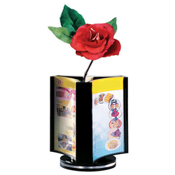 Menu / Table Display Stand 3 Sides (Rotating)