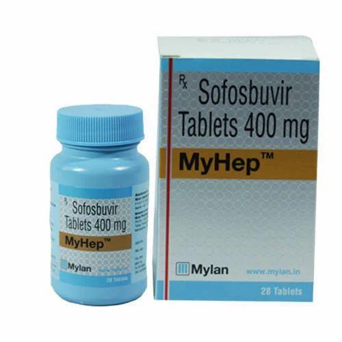 Mylan Sofosbuvir 400 MyHep, Rs 12000 /piece Palmary Life Sciences | ID:  20453799797