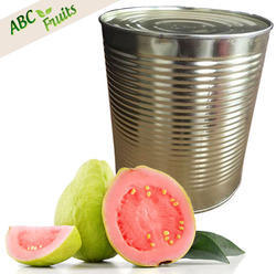 ABC Fruits Natural Canned Pink Guava Puree (3.1Kg), Packaging Type: 3.1 Kg Tin, Packaging Size: 3.1 Kgs