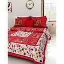 Floral Print Double Bedsheet