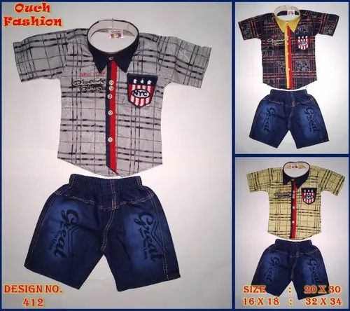Boy Fancy Kids Baba Suit, 16 x 18,20 x 30
