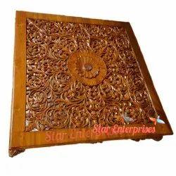 Star Enterprises 4x4 Wooden Center Table