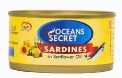 Sardines In Vegetable Oil 180g