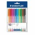 Plastic Staedtler Triangular Ball Pen