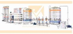 Automatic Borewell Water SS Mineral Water Plant, Rinsing and Sealing Machine, ISO