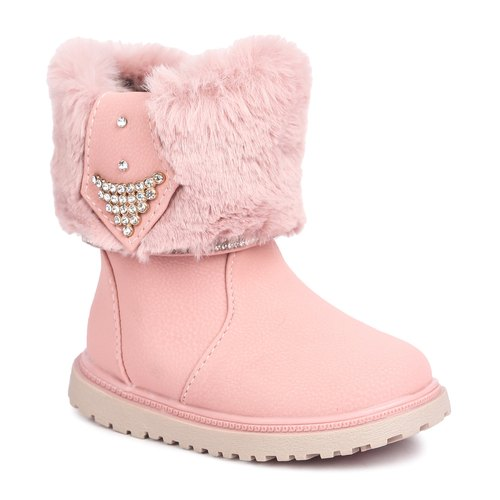 NFive Girl Kids Pink Boots, Rs 350