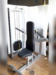 MS Mild Steel Piston Tricep Machine With Moveable Handles