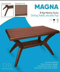 Magna Brown Dinning Table Avro