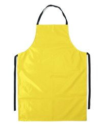 Polyester Yellow PVC Apron
