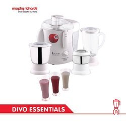 Morphy Richards Divo Essentials 3 Jar 500-Watt Juicer Mixer