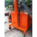 Rotated Electro Hydraulic Floor Crane