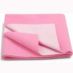 Pink Cotton Baby Dry Sheet