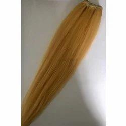 Weft Blonde Hair