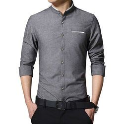 Cotton Full Sleeve Mens Fashion Shirt