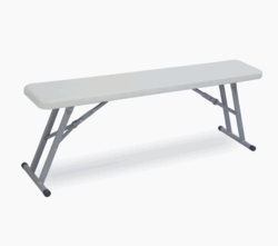 Supreme Grey and Red . Stylish Class Bench