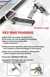 KEY RING PENDRIVE