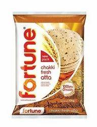 Fortune Chakki Fresh Atta, Packaging Size: 5kg, Packaging Type: Packet