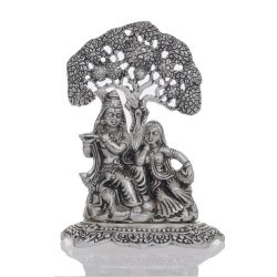 Wedding Gift Metal Radha Krishna Statue