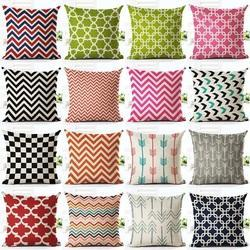 Multi Striped Designer Cushion Cover