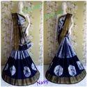 Cotton Silk Blue Saree