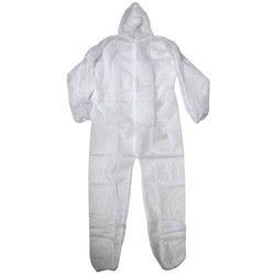 White Industrial Protective Coveralls