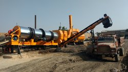 Apollo Mobile Asphalt Drum Mix Plant