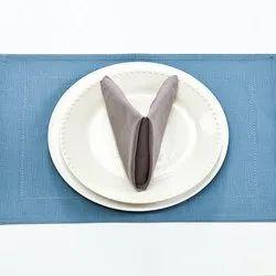 Brown Plain Banquet Napkin, Size: 20x20cm