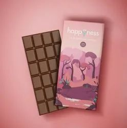 Happyness Artisanal Couverture Dark Chocolate (45% Cocoa)
