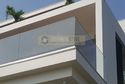 Clove Aluminium Glass Railing