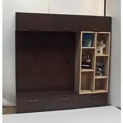 Wooden LCD TV Wall Unit