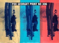 Fox Georgette Prints